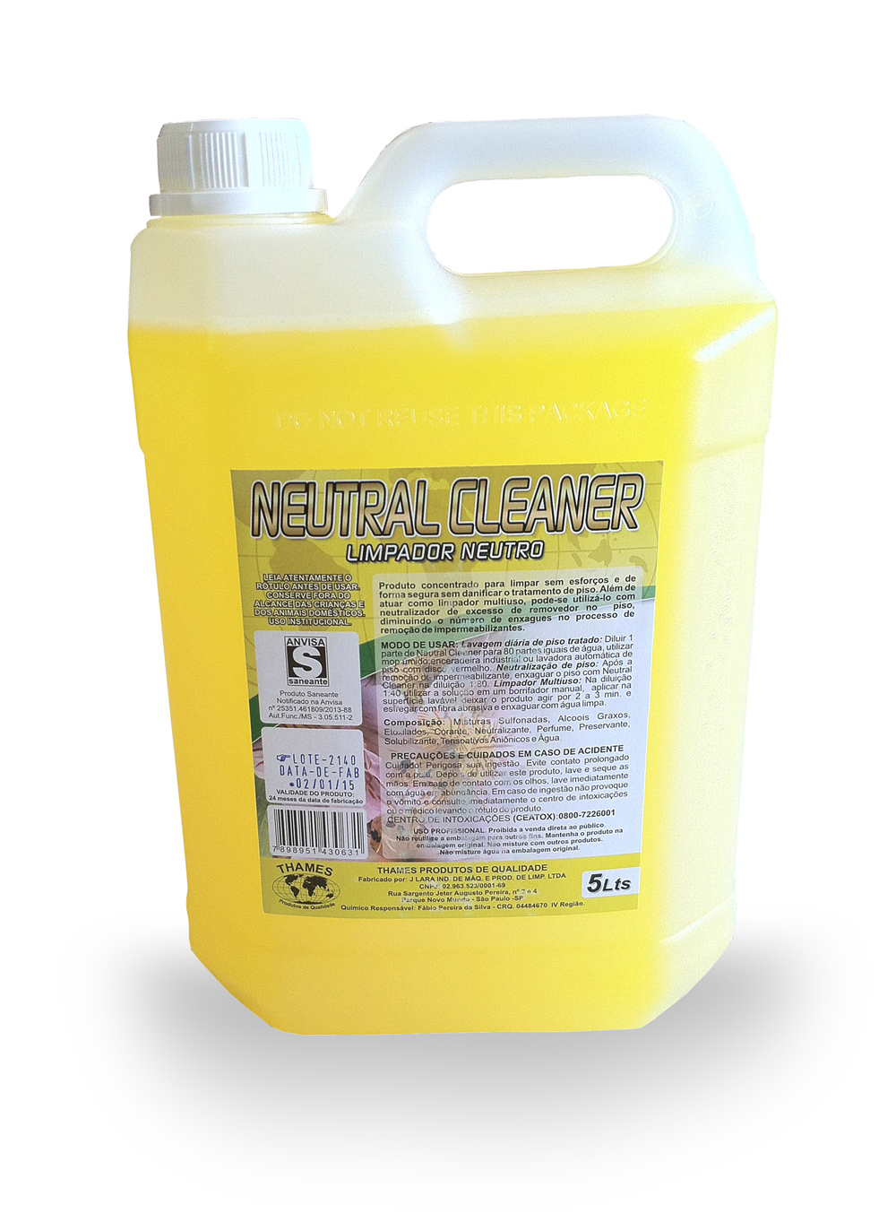 Limpador de Piso Neutral Cleaner